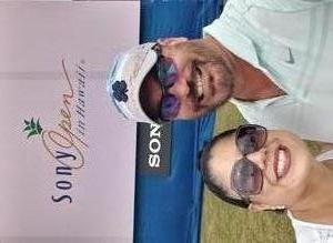 James attended Sony Open in Hawaii - PGA Tour at Waialae Country Club - *see Notes on Jan 7th 2019 via VetTix