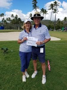 Rich attended Sony Open in Hawaii - PGA Tour at Waialae Country Club - *see Notes on Jan 7th 2019 via VetTix