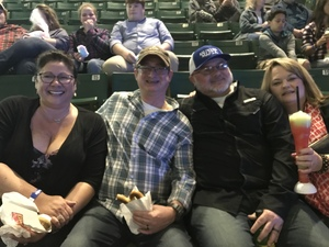 Lester attended Cole Swindell and Dustin Lynch: Reason to Drink Another Tour - Country on Dec 1st 2018 via VetTix