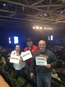 David attended Cole Swindell and Dustin Lynch: Reason to Drink Another Tour - Country on Dec 1st 2018 via VetTix