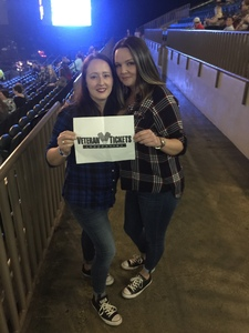 Nyoka attended Cole Swindell and Dustin Lynch: Reason to Drink Another Tour - Country on Dec 1st 2018 via VetTix