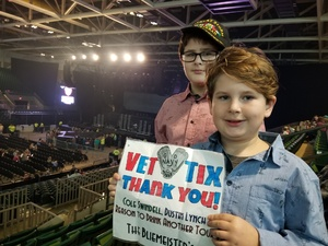 Bliemeister family attended Cole Swindell and Dustin Lynch: Reason to Drink Another Tour - Country on Dec 1st 2018 via VetTix