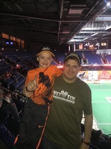 Click To Read More Feedback from New England Blackwolves vs. Saskatchewan Rush - National Lacrosse League