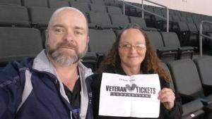 gerry attended Texas Stars vs San Antonio Rampage - Military Appreciation Game - AHL on Nov 10th 2018 via VetTix