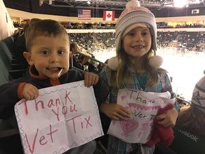 Dana attended Texas Stars vs San Antonio Rampage - Military Appreciation Game - AHL on Nov 10th 2018 via VetTix