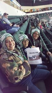 genifer attended Texas Stars vs San Antonio Rampage - Military Appreciation Game - AHL on Nov 10th 2018 via VetTix