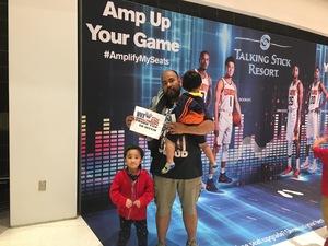 Jerome attended Phoenix Suns vs. Boston Celtics - NBA on Nov 8th 2018 via VetTix