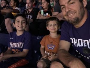Lucas attended Phoenix Suns vs. Boston Celtics - NBA on Nov 8th 2018 via VetTix
