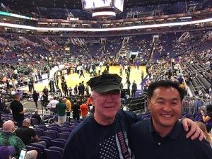 Matthew attended Phoenix Suns vs. Boston Celtics - NBA on Nov 8th 2018 via VetTix