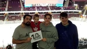 Douglas attended Cleveland Monsters vs. Laval Rocket - AHL - Military Appreciation Night - Suite Tickets on Nov 10th 2018 via VetTix