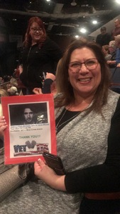 Michelle attended Josh Groban: Bridges Tour W/very Special Guest Idina Menzel - Adult Contemporary on Nov 13th 2018 via VetTix