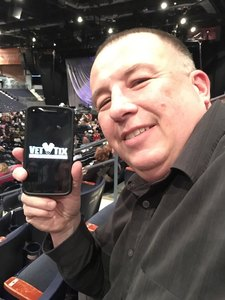 Paul attended Josh Groban: Bridges Tour W/very Special Guest Idina Menzel - Adult Contemporary on Nov 13th 2018 via VetTix