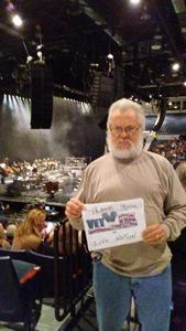 Jim attended Josh Groban: Bridges Tour W/very Special Guest Idina Menzel - Adult Contemporary on Nov 13th 2018 via VetTix