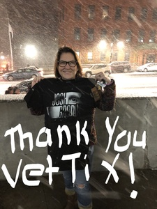 Catherine attended Josh Groban: Bridges Tour W/very Special Guest Idina Menzel - Adult Contemporary on Nov 13th 2018 via VetTix