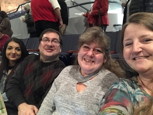 Tammy attended Josh Groban: Bridges Tour W/very Special Guest Idina Menzel - Adult Contemporary on Nov 13th 2018 via VetTix