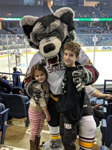 James attended Chicago Wolves vs. Tucson Roadrunners - AHL - Special Instructions * See Notes on Dec 16th 2018 via VetTix