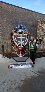 Mary attended Chicago Wolves vs. Tucson Roadrunners - AHL - Special Instructions * See Notes on Dec 16th 2018 via VetTix