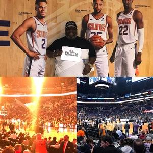 John Graves attended Phoenix Suns vs. San Antonio Spurs - NBA on Nov 14th 2018 via VetTix