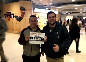 Garret attended Phoenix Suns vs. San Antonio Spurs - NBA on Nov 14th 2018 via VetTix