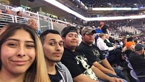 Evangeline attended Phoenix Suns vs. San Antonio Spurs - NBA on Nov 14th 2018 via VetTix