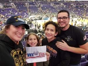 Eustacio attended Phoenix Suns vs. San Antonio Spurs - NBA on Nov 14th 2018 via VetTix
