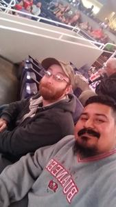 Richard attended Phoenix Suns vs. San Antonio Spurs - NBA on Nov 14th 2018 via VetTix