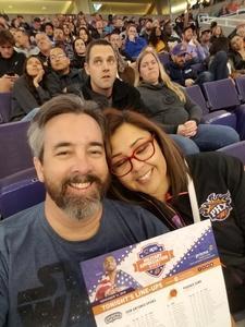 Michael attended Phoenix Suns vs. San Antonio Spurs - NBA on Nov 14th 2018 via VetTix