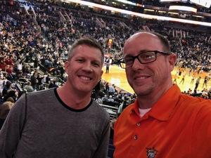 Burton attended Phoenix Suns vs. San Antonio Spurs - NBA on Nov 14th 2018 via VetTix