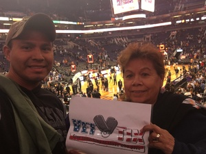 Jesus attended Phoenix Suns vs. San Antonio Spurs - NBA on Nov 14th 2018 via VetTix