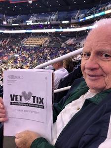 SHARON attended Phoenix Suns vs. San Antonio Spurs - NBA on Nov 14th 2018 via VetTix