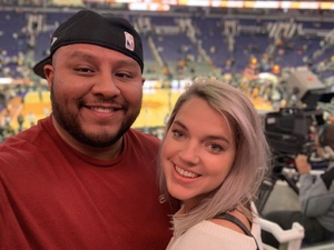 James S. attended Phoenix Suns vs. San Antonio Spurs - NBA on Nov 14th 2018 via VetTix
