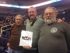 Randy attended Phoenix Suns vs. San Antonio Spurs - NBA on Nov 14th 2018 via VetTix