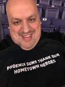 Mark attended Phoenix Suns vs. San Antonio Spurs - NBA on Nov 14th 2018 via VetTix