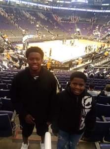 Rodrick attended Phoenix Suns vs. San Antonio Spurs - NBA on Nov 14th 2018 via VetTix
