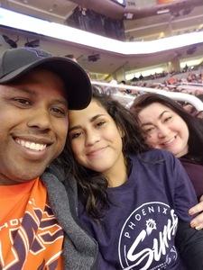 Corey attended Phoenix Suns vs. San Antonio Spurs - NBA on Nov 14th 2018 via VetTix