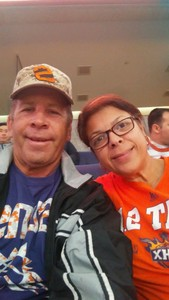 Paul attended Phoenix Suns vs. San Antonio Spurs - NBA on Nov 14th 2018 via VetTix