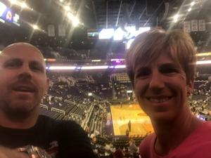 Richard attended Phoenix Suns vs. San Antonio Spurs - NBA on Nov 14th 2018 via VetTix