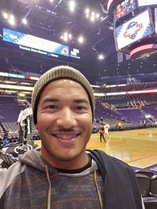 Chance attended Phoenix Suns vs. San Antonio Spurs - NBA on Nov 14th 2018 via VetTix