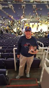 Ernest attended Phoenix Suns vs. San Antonio Spurs - NBA on Nov 14th 2018 via VetTix