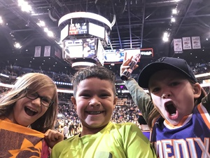 Michael attended Phoenix Suns vs. San Antonio Spurs - NBA on Nov 14th 2018 via VetTix