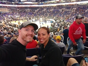 Patrick attended Phoenix Suns vs. San Antonio Spurs - NBA on Nov 14th 2018 via VetTix