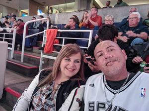 Manuel attended Phoenix Suns vs. San Antonio Spurs - NBA on Nov 14th 2018 via VetTix