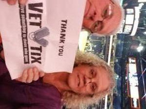 Edwin attended Phoenix Suns vs. San Antonio Spurs - NBA on Nov 14th 2018 via VetTix