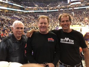 Stan attended Phoenix Suns vs. San Antonio Spurs - NBA on Nov 14th 2018 via VetTix
