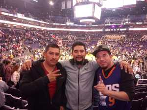 Sammy attended Phoenix Suns vs. San Antonio Spurs - NBA on Nov 14th 2018 via VetTix
