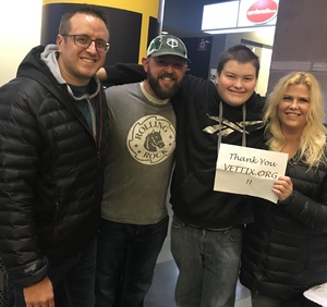 Heather attended Breaking Benjamin and Five Finger Death Punch - Alternative Rock on Nov 23rd 2018 via VetTix