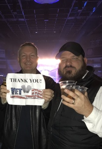 Mike R. attended Breaking Benjamin and Five Finger Death Punch - Alternative Rock on Nov 23rd 2018 via VetTix