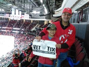 ricardo attended New Jersey Devils vs. Winnipeg Jets - NHL on Dec 1st 2018 via VetTix