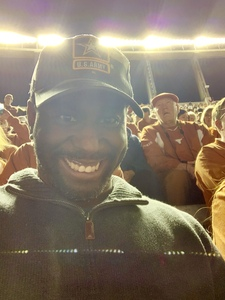 Brian attended Texas Longhorns vs. Iowa State - NCAA Football on Nov 17th 2018 via VetTix