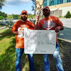 Brock attended Texas Longhorns vs. Iowa State - NCAA Football on Nov 17th 2018 via VetTix
